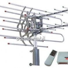 Antena TV Rotativa cu Telecomanda si Amplificator Sonett SNA950TG