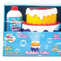 Tort pentru petrecerea cu bule, Fru Blu