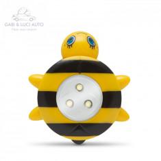 """Lampă de veghe cu buton, model """"Albină"""""""