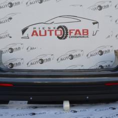 Bară spate Volkswagen Tiguan an 2017-2018 cu găuri pentru Parktronic și camere (6 senzori)