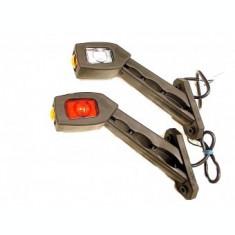 Lampa LED gabarit cu brat cot la 45 grade Stanga LD518L