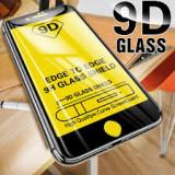 Folie sticlă iPhone 8Plus cu adeziv pe tot ecranul si margini curbate