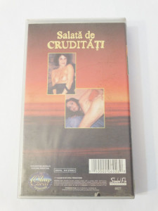 Caseta video VHS originala film tradus Ro XXX - Salata de Cruditati