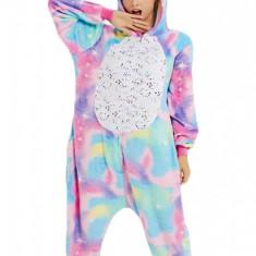 PJM170-100 Pijama intreaga kigurumi, model unicorn
