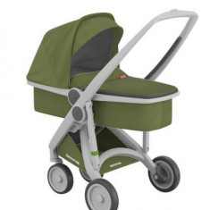 Carucior 2 in 1 Greentom 100% Ecologic Grey Olive