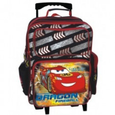 Troler copii Cars McQueen Dragon Fireball
