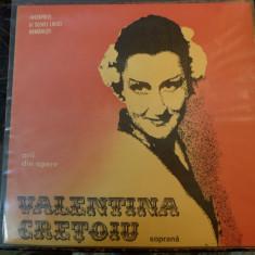 Valentina Crețoiu – Arii Din Opere  Electrecord – ECE 01875 vinyl  1981