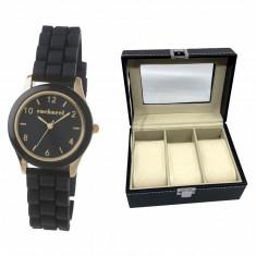 Elegant Time Gift Set Ceas Cacharel si Cutie 3 Ceasuri
