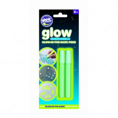 Pixuri fosforescente magice The Original Glowstars Company, 10 ml, Alb/Galben