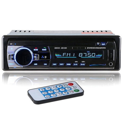 Radio MP3 Player Casetofon auto 4x60W cu Bluetooth CADOU STICK USB 32GB foto