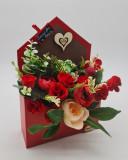 Cumpara ieftin Aranjament floral Plic Buchet flori 5