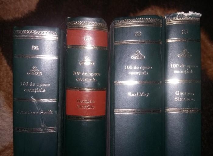 """Colectia Adevarul""""100 de opere esentiale""""4 VOLUME,MOBY DICK,Guliver etc.T.GRATUI"""