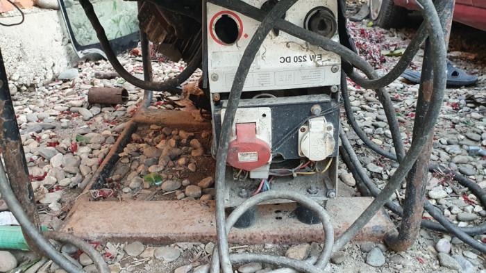 Vind generator cu aparat de sudura