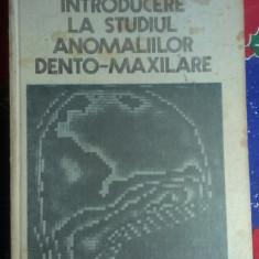 INTRODUCERE LA STUDIUL ANOMALIILOR DENTO-MAXILARE de prof dr doc P. FIRU .