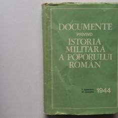 Documente Privind Istoria Militara A Poporului Roman 7 septembrie Octombrie 1944