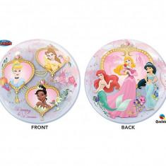 "Balon Bubble 22""/56cm Qualatex, cu Printese Disney, 29164"