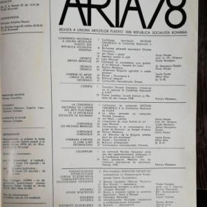 REVISTA ARTA PLASTICA NR.4/1978