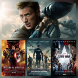 Poster Capitanul America / Captain America Marvel Afis A3