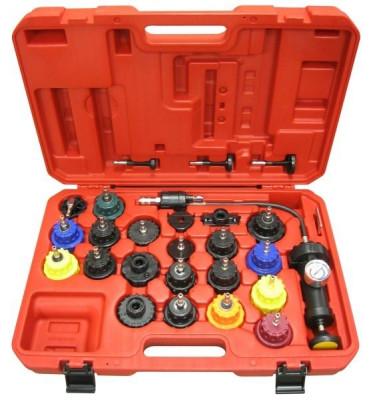 Set 25 piese tester diagnosticare presiune sistem racire motor auto foto