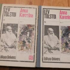 Anna Karenina de Lev Tolstoi (2 vol.)