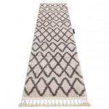 Covorul, Traversa BERBER BENI crem — pentru bucătărie, hol și coridor, 70x300 cm