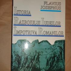 Istoria razboiului iudeilor impotriva romanilor 576pagini- Flavius Josephus