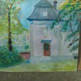 Pictura semnata - M. H . Georgescu, Peisaje, Ulei, Realism