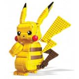Pokémon Mega Construx Wonder Builders Construction Set Jumbo Pikachu 33 cm, Mattel