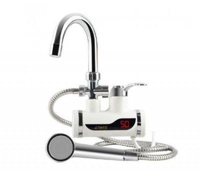 Robinet Electric pentru incalzit apa ( dus atasat, cu temperatura LCD ) foto