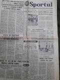 Ziarul Sportul din 5 februarie 1977
