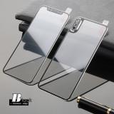 Cumpara ieftin Folie protectie din sticla pentru Iphone X, full cover, negru