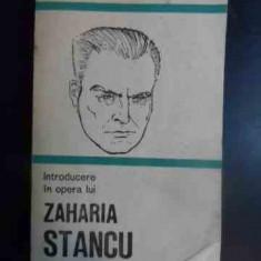 Introducere In Opera Lui Zaharia Stancu - Mariana Ionescu ,542863