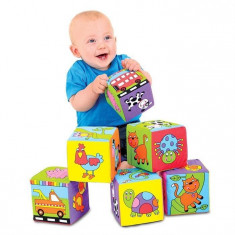 Set De Jucarii Galt Toys Baby Soft Blocks
