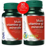Multivitamine Si Minerale 60cps+30cps Pachet 1+1 GRATIS