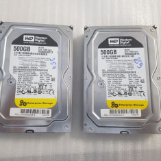 Hard Disk desktop  WD Black 500GB, 7200rpm, 64MB , SATA III - teste reale