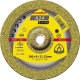 A 24 EX Discuri polizare, 230 x 6 x 22,23 mm cu centru depresat Klingspor 13447