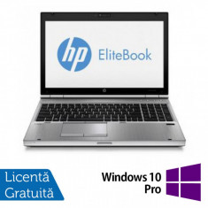 Laptop HP EliteBook 8570p, Intel Core i5-3320M 2.60GHz, 8GB DDR3, 320GB SATA, DVD-RW + Windows 10 Pro