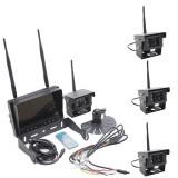 Aproape nou: Kit video marsarier PNI KV04 pentru camion cu 4 camere wifi + monitor