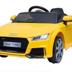 Masinuta electrica Audi TT RS 2x 30W STANDARD 12V Galben