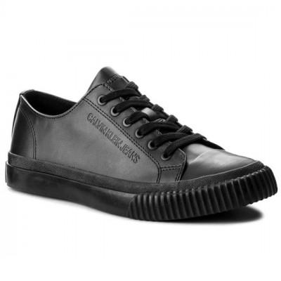 Sneakers barbati Calvin Klein Iaco Nappa Smooth ,negru,marimea 43 foto
