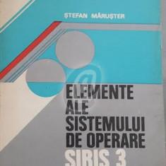 Elemente ale sistemului de operare Siris 3