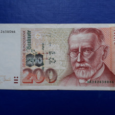 200 Mark 1996 bancnota marci Germania