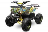 ATV electric NITRO Eco Toronto 1000W 48V 20Ah cu DIFERENTIAL Galben