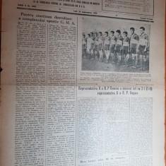 Sportul popular 20 septembrie 1954-capionatul de tir,volei,rugby,handbal,sah