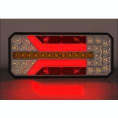 Lampa stop Camion Remorca Rulota LED cu semnalizare dinamica 12-24V AL-101019-5