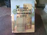 CHIMIA LEMNULUI DIN ROMANIA. PLOPUL SI SALCIA - CRISTOFOR SIMIONESCU