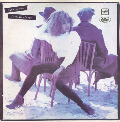 Tina Turner - Foreign Affair (LP - Rusia - VG) foto