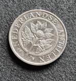Antilele Olandeze 25 cent centi 1995, America Centrala si de Sud