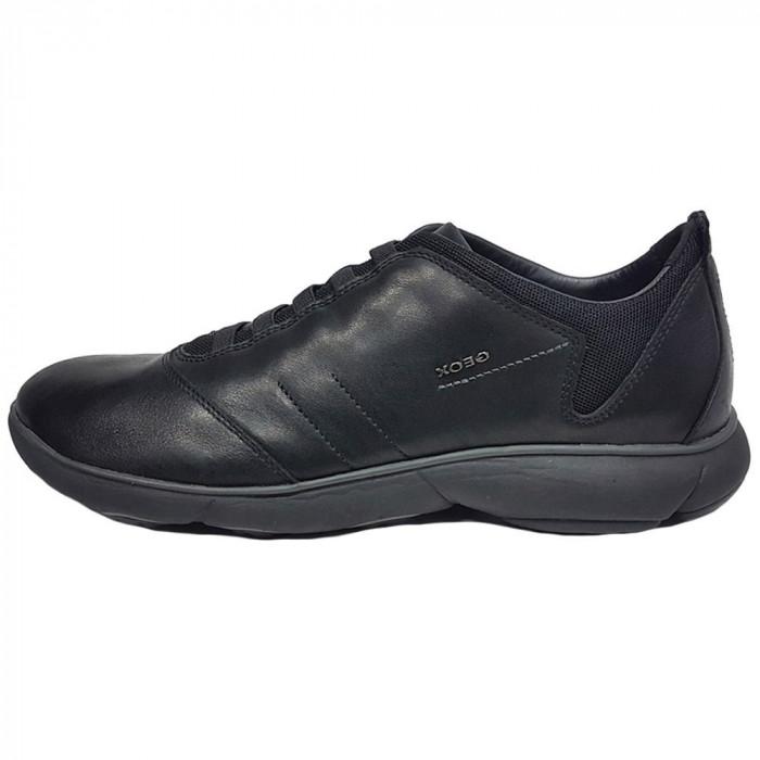 Pantofi sport barbati, din piele naturala, marca Geox, U52D7B-01-06, negru , marime: 39