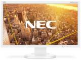 Monitor IPS LED NEC 23inch E233WMi, Full HD (1920 x 1080), VGA, DVI, DisplayPort, Boxe, Pivot, 6 ms (Alb)